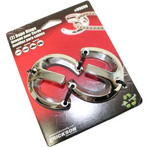 Horseshoe Rope Cleat 2 Pk