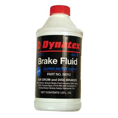 Brake Fluid Dot 3 HD 12oz 450D