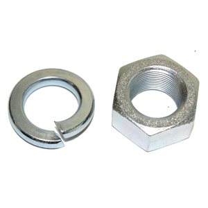 Nut & Washer 1.25 Ball Shank