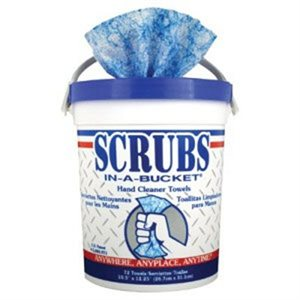 Scrubs Bucket 72ct