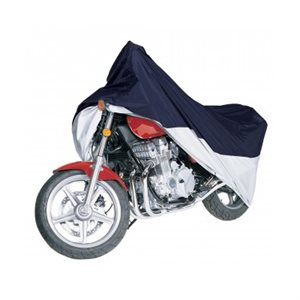 Cover MotorCycle Blue / Silver