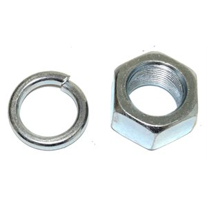 Nut Ball 1.25in & Washer